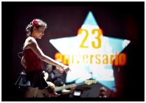 'Los de Abajo' cerraron la noche para celebrar 23 años de existencia. Foto: Daniel Aguilar (@DANIELAGUILAR20).