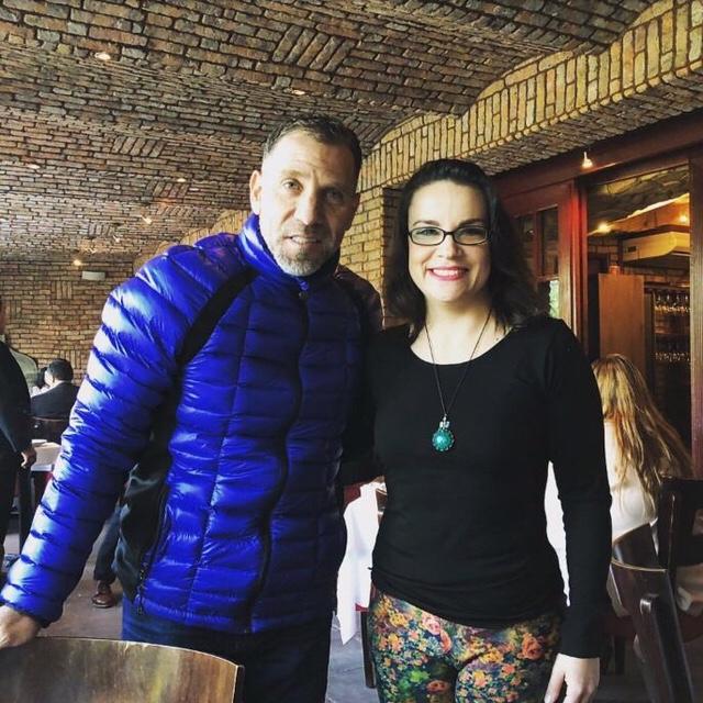 Lucía Zamora y Beto García Aspe
